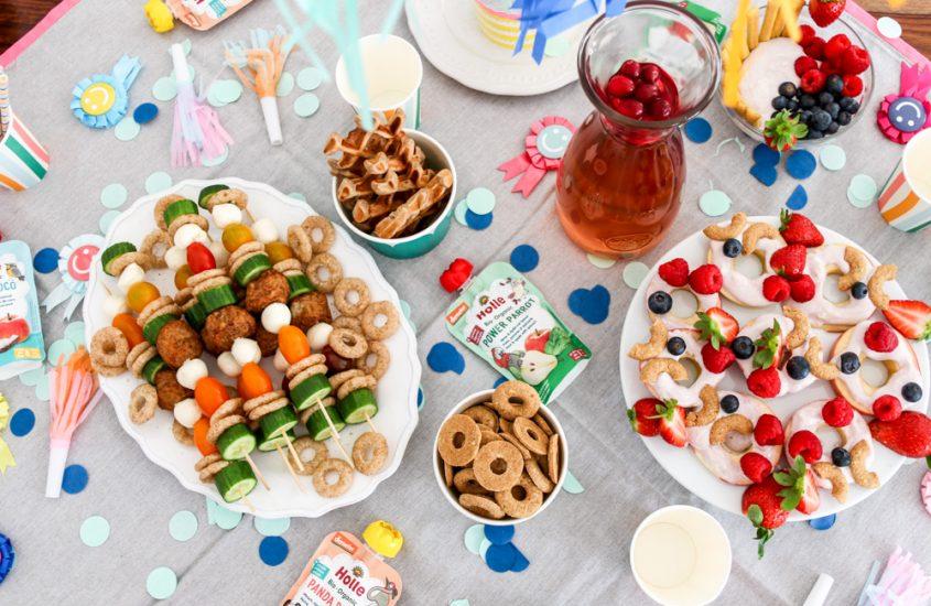 Rezept: Gesunde Partysnacks für kleine Gäste #PimpMyHolle. [Werbung]