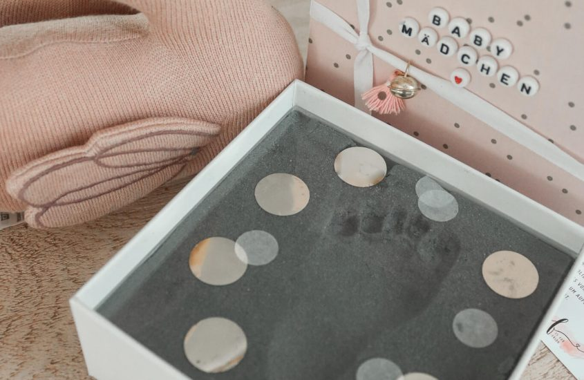 Von kleinen Fußstapfen & vielen ERinnerungen -Dein BabyFußbdruck mit My magic footprint [Werbung]