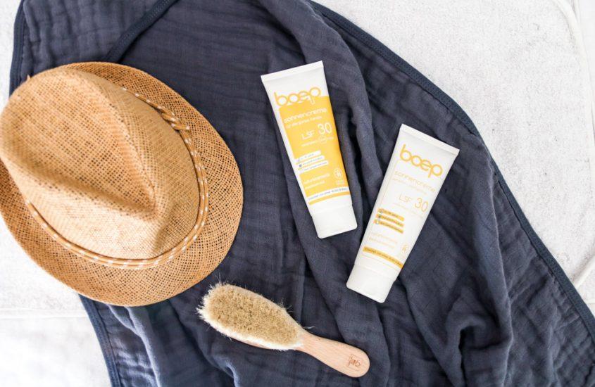 Sommer, Sonne, Sonnenbrand? Wie ihr mit der richtigen Sonnenpflege Eure Kleinen schützen könnt. [Werbung]